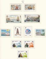 Europa-CEPT - 1992 - Sammlung 5. - Postfrisch - Europa-CEPT