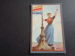 Publicité ( 2 ) Reclame   PHILIPS  Lampe  Lamp - Advertising