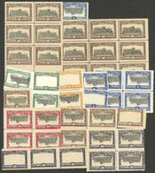 PARAGUAY: 1922 Revolution, Stamps Issued On 10 November 1922 For The Constitutional Army Of Colonel Chirife, Lot Of Stam - Paraguay