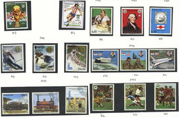 PARAGUAY: AIRMAIL: Collection On Pages Airmail Stamps Issued Between 1980 And 1993 (Yvert 855 To 1204, Almost Complete F - Paraguay