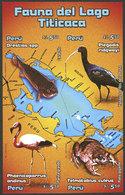 PERU: Sc.1516, 2006 Fauna Of The Titicaca Lake, IMPERFORATE Set, Excellent Quality, Rare! - Peru
