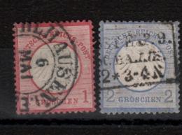 Allemagne - Zone Nord (1872 ) N°4 / 5 Oblitérés - Oblitérés