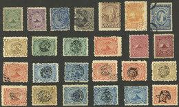 EL SALVADOR: Interesting Small Lot Of Old Stamps, Very Fine General Quality! - El Salvador
