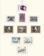 Europa-CEPT - 1992 - Sammlung 8. - Postfrisch - Europa-CEPT
