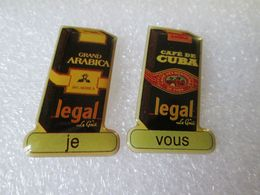 PIN'S     LOT 2  CAFE  LEGAL - Boissons
