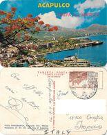 Acapulco. Vista Panoramica. Viaggiata 1970 - Mexique