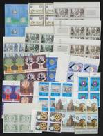 WORLDWIDE: TOPIC ROTARY: Lot Of Stamps And Complete Sets In BLOCKS OF 4, All Mint Never Hinged Of Excellent Quality, Yve - Rotary, Lions Club