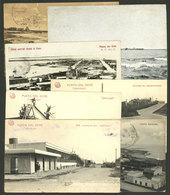 URUGUAY: PUNTA DEL ESTE: 7 Old Postcards With Very Good Views, Fine To VF General Quality! - Uruguay