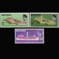 BRUNEI 1969 - Scott# 156-8 Royal Assembly Set Of 3 MNH - Brunei (1984-...)