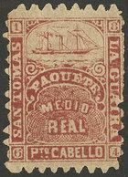 VENEZUELA: Attractive Cinderella For Maritime Mail, Very Nice! - Cinderellas