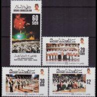 BRUNEI 1988 - Scott# 398-401 Natl.Day Set Of 4 MNH - Brunei (1984-...)