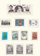 Europa-CEPT - 1992 - Sammlung 9. - Postfrisch/Gest. - Europa-CEPT