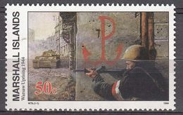 Marshall Islands 1994 WO II Warsaw Uprising 1944  Michel 543  MNH 28082 - Marshall