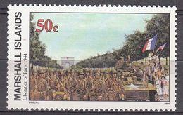 Marshall Islands 1994 WO II Liberation Of Paris 1944  Michel 548  MNH 28083 - Marshall