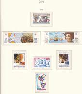 Europa-CEPT - 1992 - Sammlung 11. - Postfrisch - Europa-CEPT
