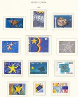 Europa-CEPT - 1992 - Sammlung 12. - Postfrisch/Gest. - Europa-CEPT
