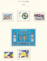 Europa-CEPT - 1992 - Sammlung 13. - Postfrisch - Europa-CEPT