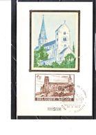 1663 Soie Collégiale St-Ursmer (Lobbes) - Lobbes
