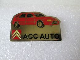 PIN'S     CITROEN    ZX  ACC  AUTO - Citroën