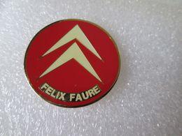 PIN'S     CITROEN    FELIX FAURE - Citroën