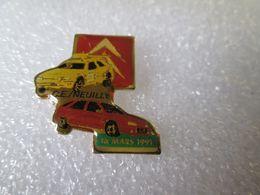 PIN'S     CITROEN    C E NEUILLY    ZX  RALLYE RAID - Citroën