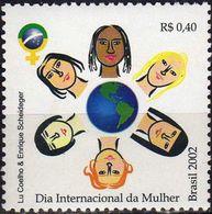 BRAZIL #2837- International Women's Day. -  2002 - Neufs