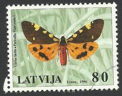 Latvia, 80 S, 1996, Sc # 425, Mi # 434, Used - Latvia