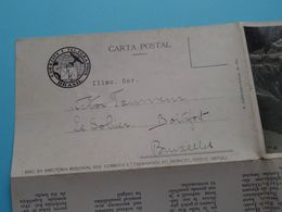 Capital RIO De JANEIRO ( Letter Card / R. Carbone ) Anno 1936 > Le Solier Boitsfort Belgique ( See Photo ) ! - Rio De Janeiro