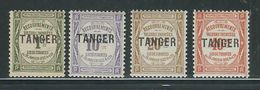 MAROC N° Taxes 42 à 45  * - Morocco (1891-1956)