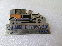 PIN'S    CLUB   CITROEN   10 HP  B 2   LANDAULET  GRAND LUXE   1992   Email G F DEMONS ET  MERVEILLES - Citroën