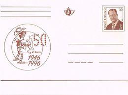 Postkaart 1996 50 Jaar Lucky Luck - Stamped Stationery