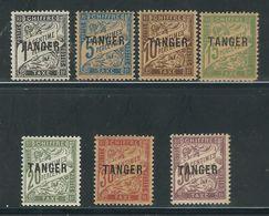 MAROC N° Taxes 35 à 41  * - Morocco (1891-1956)