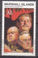 Marshall Islands 1994 WO II Yalta Conference Begins 1945  Michel 566  MNH 28088 - Marshall