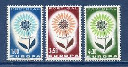 Portugal - YT N° 944 à 946 - Neuf Sans Charnière - 1964 - 1910-... República