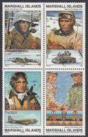 Marshall Islands 1994 WO II Battle Of The Bulge 1944  Michel 561-64  MNH 28089 - Marshall