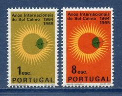 Portugal - YT N° 947 Et 948 - Neuf Sans Charnière - 1965 - 1910-... República