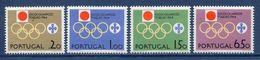 Portugal - YT N° 949 à 952 - Neuf Sans Charnière - 1965 - 1910-... República