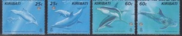 Kiribati, N° 414 à 421 (Dauphins, Baleines, ...), Neufs ** - Kiribati (1979-...)