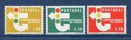 Portugal - YT N° 955 à 957 - Neuf Sans Charnière - 1965 - 1910-... República
