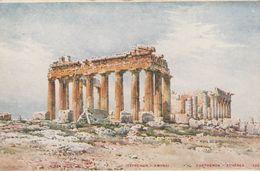 Grece 1915 - Athene - Parthenon - Scan Recto-verso - Grecia