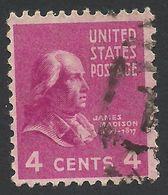 United States, 4 C. 1938, Sc # 808, Mi # 415, Used - United States