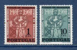 Portugal - YT N° 958 Et 959 - Neuf Sans Charnière - 1965 - 1910-... República