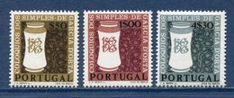 Portugal - YT N° 935 à 937 - Neuf Sans Charnière - 1963 - 1910-... República