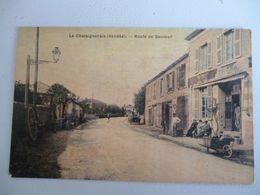 La Chateigneraie  Route De Saumur ( Tel Quel ) - La Chataigneraie