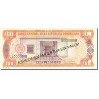 Billet, Dominican Republic, 100 Pesos Oro, 1997, 1997, Specimen, KM:156s1, SPL - República Dominicana