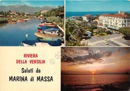 Cartolina Marina Di Massa Vedute 1976 - Massa