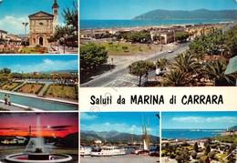 Cartolina Marina Di Carrara Vedute 1968 - Massa
