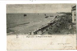 CPA- Carte Postale-Belgique- Heyst Sur Mer- La Plage à Marée Haute -1904 VM18496 - Heist