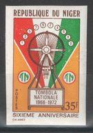 NIger - YT 261 ** MNH Non Dentelé - 1972 - Tombola Nationale - Niger (1960-...)
