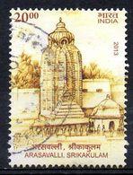INDE. Timbre Oblitéré De 2013. Arasavalli Temple Du Soleil. - Hinduism